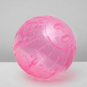 Прогулочный шар для мелких животных, размер XL, 27 см, микс цветов