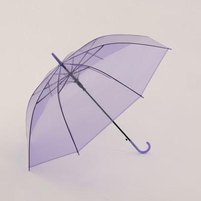Umbrella wives cane p/ed R46 8спиц PVC Brightness handles the hook MIX