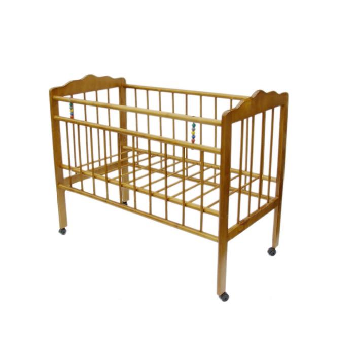 """Кровать детская """"Женечка-1""""колесо (светлая)"""