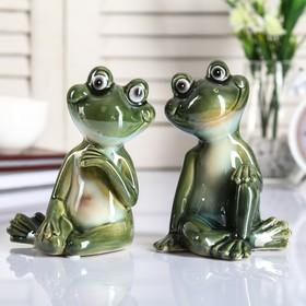 "Souvenir ceramic ""Funny frog"" MIX 13,5x8,5x9,5 cm"