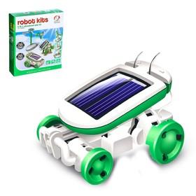 Игровой набор «Солнцебот», 6 в 1, работает от солнечной батареи