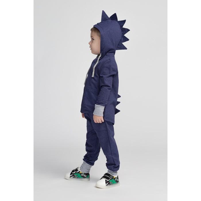 Комплект детский (джемпер, брюки), цвет тёмно-синий, рост 104 см