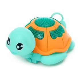 Игрушка заводная «Черепаха», световые эффекты, цвета МИКС