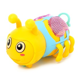 Игрушка заводная «Пчела», световые эффекты, цвета МИКС