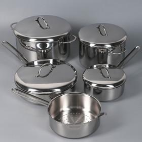 Набор посуды «Гурман Классик», 9 предметов