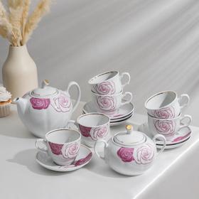 Сервиз чайный Mon Amour, 14 предметов