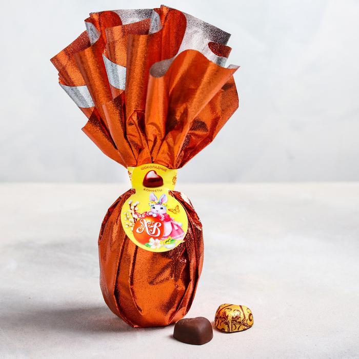Шоколадные конфеты в яйце «ХВ», 225 г