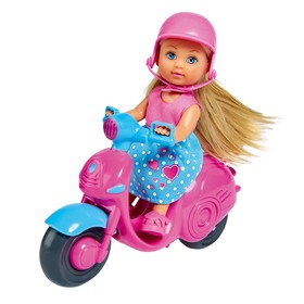 Кукла «Еви» 12 см, на скутере