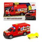 Машинка скорой помощи с носилками, 18 см, световые и звуковые эффекты