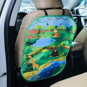 """Незапинайка на автомобильное кресло с наклейками """"Африка"""""""
