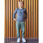 "Свитшот для мальчика KAFTAN ""Safari"" р.30 (98-104 см), серый - фото 105716788"