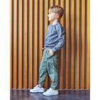 "Свитшот для мальчика KAFTAN ""Safari"" р.30 (98-104 см), серый - фото 105716789"