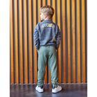 "Свитшот для мальчика KAFTAN ""Safari"" р.30 (98-104 см), серый - фото 105716790"