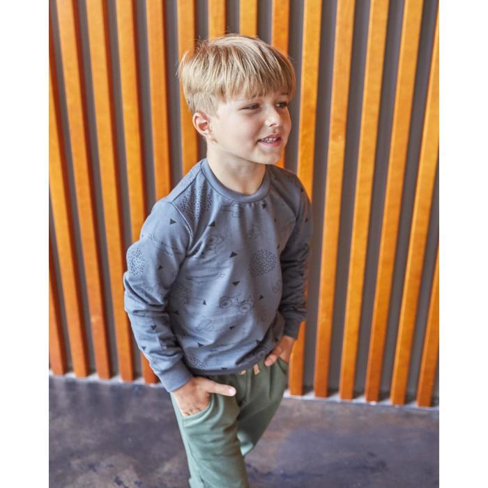 "Свитшот для мальчика KAFTAN ""Safari"" р.34 (122-128 см), серый - фото 798488451"