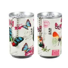 Влажные салфетки «Бабочки», в банке 29 шт.
