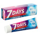 Зубная паста 7 days Rezolut Двойной кальций без фтора 100 мл