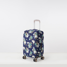 """Case for suitcase 024 20"""", 36*24*49, green flowers on blue"""