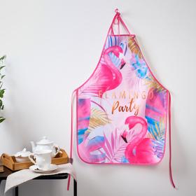"""Кухонный фартук """"Фламинго"""""""