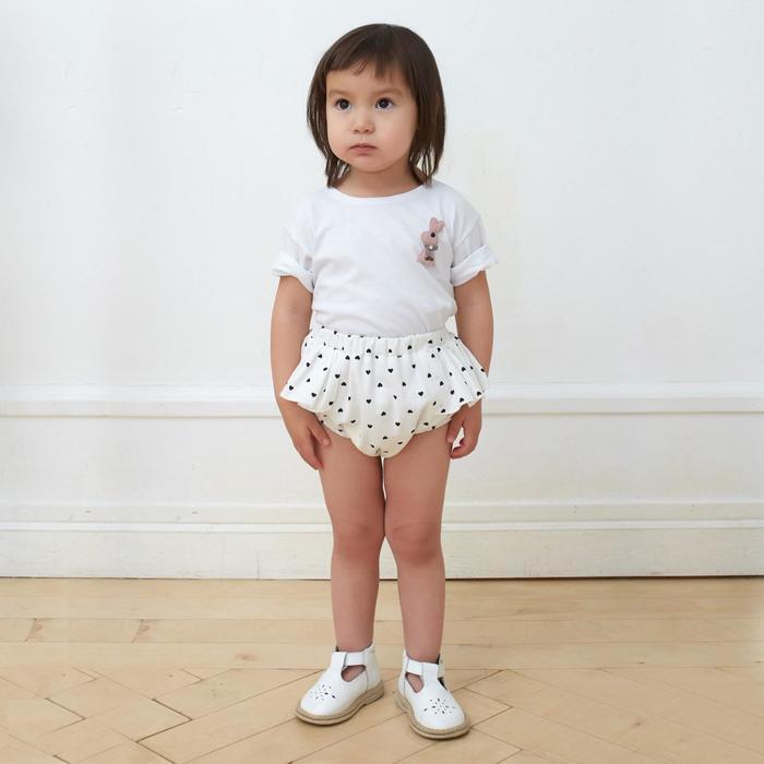 Трусы для девочки MINAKU: cotton collection цвет белый, рост 74 см - фото 76207093