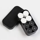 A set of checkers, mix