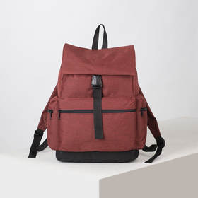 4913 p600d The backpack is young, 35 * 20 * 43, separate on a lace, 3 n / pockets, claret