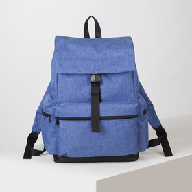4913 p600d The backpack is young, 35 * 20 * 43, separate on a cord, 3 n / pockets, cornflower
