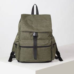 4913 p600d The backpack is young, 35 * 20 * 43, separate on the lace, 3 n / pockets, khaki