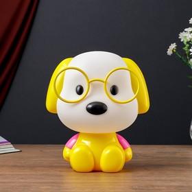 """Настольная лампа """"Собака"""", 1х15Вт Е14,  цвет чёрный"""