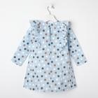 """Платье для девочки KAFTAN """"Горох"""" р.30 (98-104), голубой - фото 105697323"""