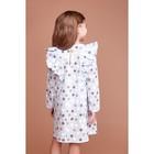 """Платье для девочки KAFTAN """"Горох"""" р.30 (98-104), голубой - фото 105697317"""