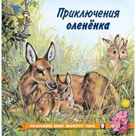 «Познаём мир вокруг нас. Приключения оленёнка», 16 стр.