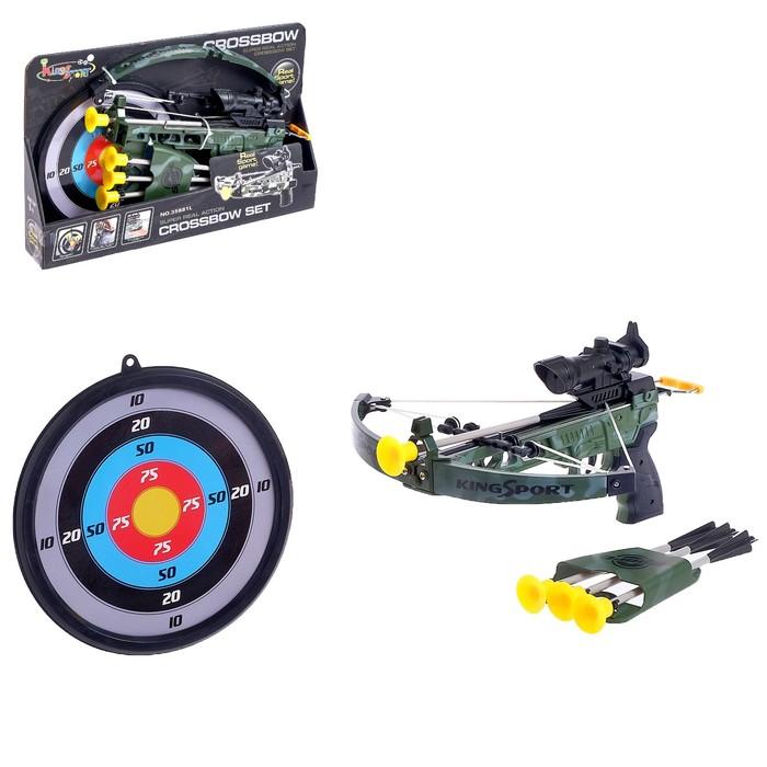 Арбалет «Спорт» со стрелами с присосками