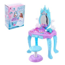 Столик с зеркалом «Модница», с аксессуарами