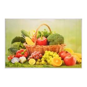 Наклейка на кафельную плитку 'Урожай в корзине' 90х60 см Ош