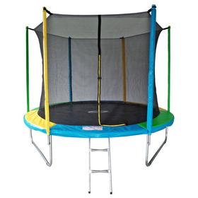 Батут 10 ft, d=305 см, с внутренней защитной сеткой и лестницей