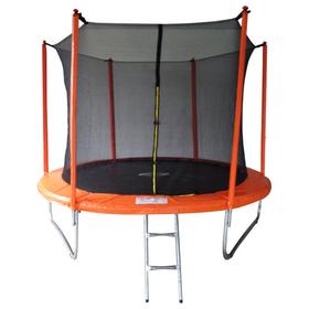 Батут 10 ft, d=305 cм, с внутренней защитной сеткой и лестницей