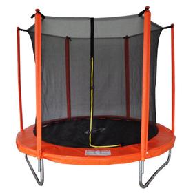 Батут 8 ft, d=244 см, с внутренней защитной сеткой
