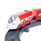 Железная дорога «Город», световые и звуковые эффекты, работает от батареек - фото 105642900