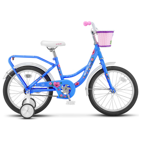 "Велосипед 16"" Stels Flyte Lady, Z011, цвет голубой"