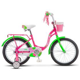 "Велосипед 18"" Stels Jolly, V010, цвет пурпурный/зелёный"