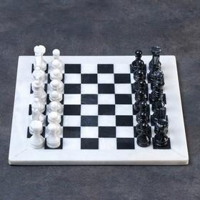 """Шахматы """"Элит"""",доска 30 х 30 см.,вид 2, оникс"""