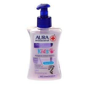 AURA Крем-мыло антибактериальное KIDS флакон/дозатор 250мл