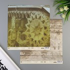 """Набор бумаги для скрапбукинга (10 листов) """"Танки"""", 30,5х30,5 см,190 гр/м2"""