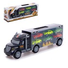 Truck Carrier with 6 cars and accessories