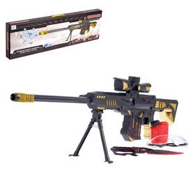 Винтовка Barret M89, стреляет гелевыми пулями, работает от аккумулятора
