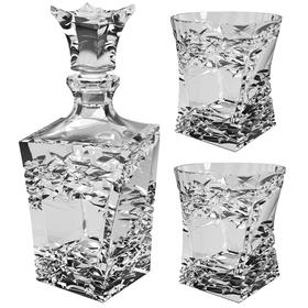 Набор для виски Samurai,: Штоф 700 мл + 2 стакана 240 мл