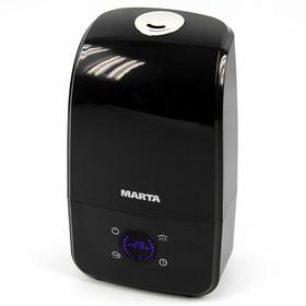 Увлажнитель воздуха MARTA MT-2690, ультразвуковой, 30 Вт, 3 л, до 40 м2, чёрный