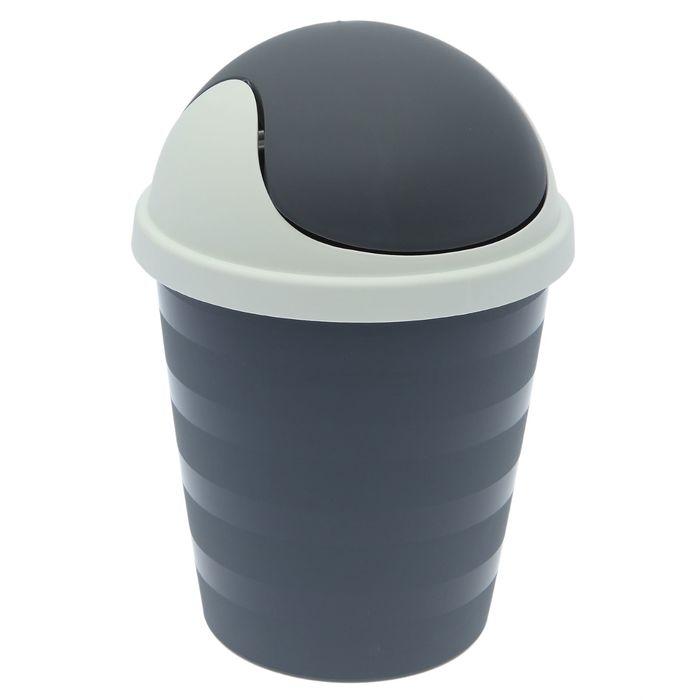 Контейнер для мусора 5,5 л, цвет МИКС