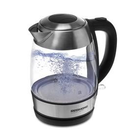 Чайник электрический REDMOND RK-G168, 2200 Вт, 1.7 л, подсветка