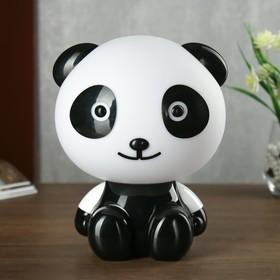 """Настольная лампа """"Панда"""" 1хE14 15W чёрный"""